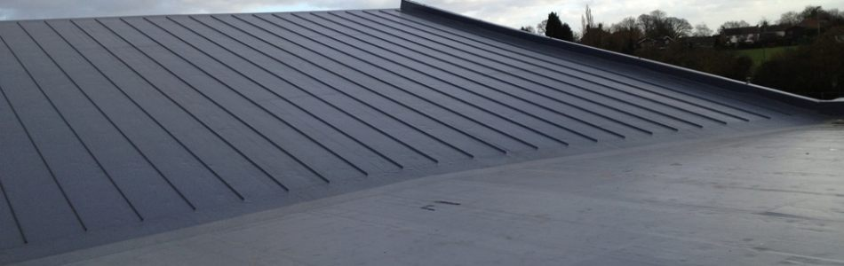 Cambridge polymer roofing flat roofing from cambridge for Polymer roofing